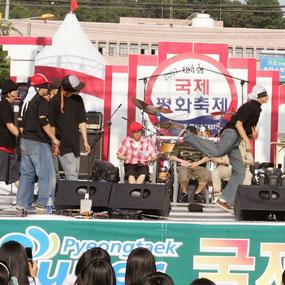 송탄관광특구 국제평화축제 여행정보 상세소개