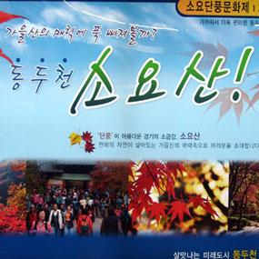 소요 단풍문화제 여행정보 상세소개