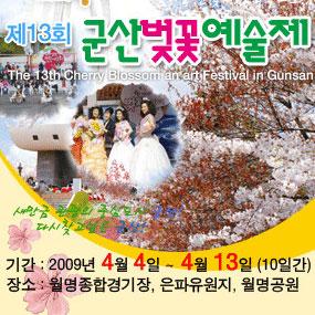 군산 벚꽃예술제여행정보 http://www.travelkor.com