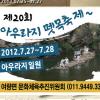 아우라지 뗏목축제 여행정보 상세소개